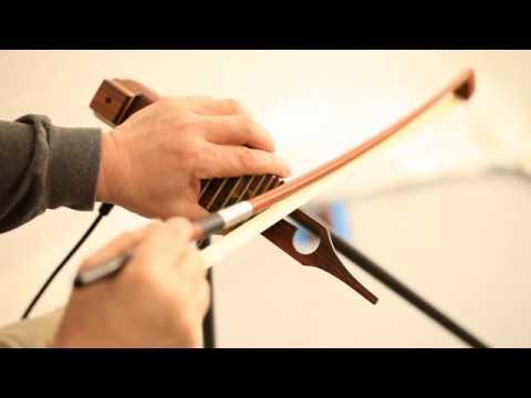 ダクソフォンのセッティング法と弓を使った基本奏法【サンレコ2014年6月号連動】