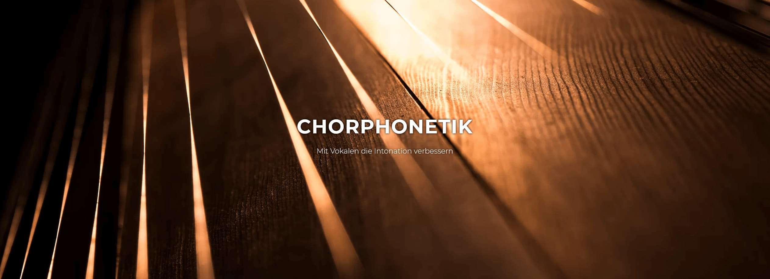 Chorphonetik Worskhop Klangwelt Swiss