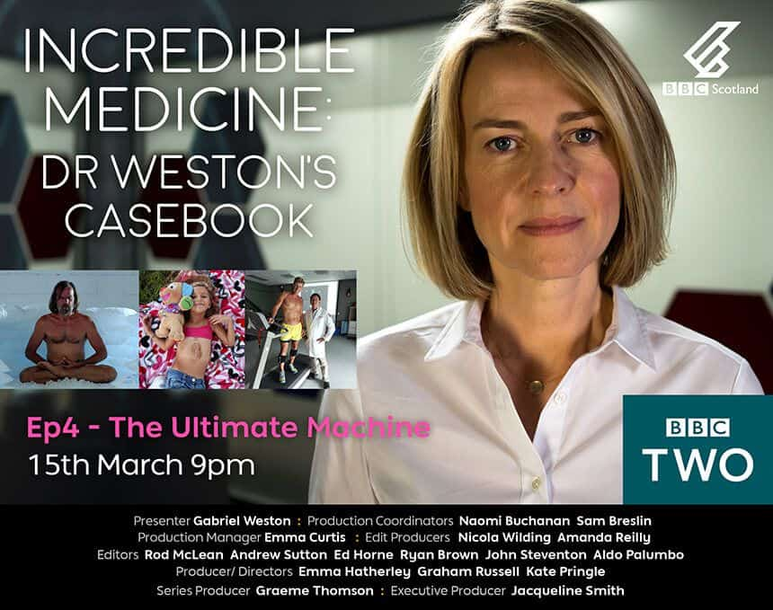 BBC: Incredible Medicine: Dr Weston's Casebook Poster Ep 4
