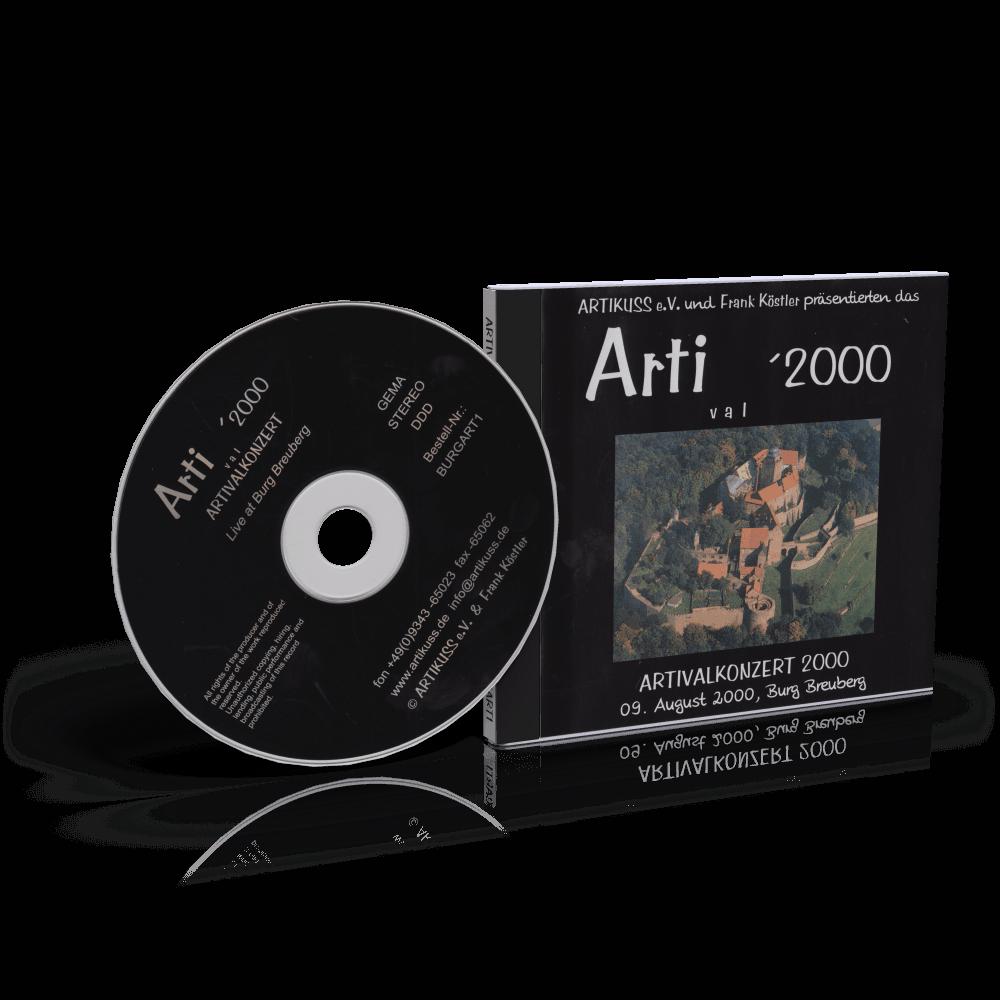 CD Artival 2000