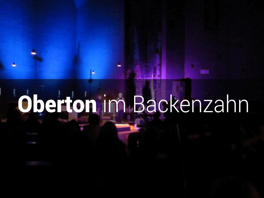 Oberton im Backenzahn