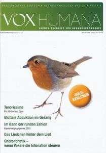 Vox Humana 11-1 2015