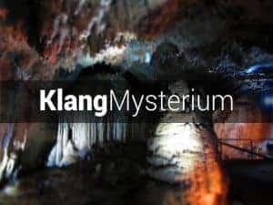 Klangmysterium in der Dechenhöhle mit Günter Müller und Wolfgang Saus