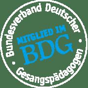 Mitglied im Bundesverband Deutscher Gesangspädagogen - Logo