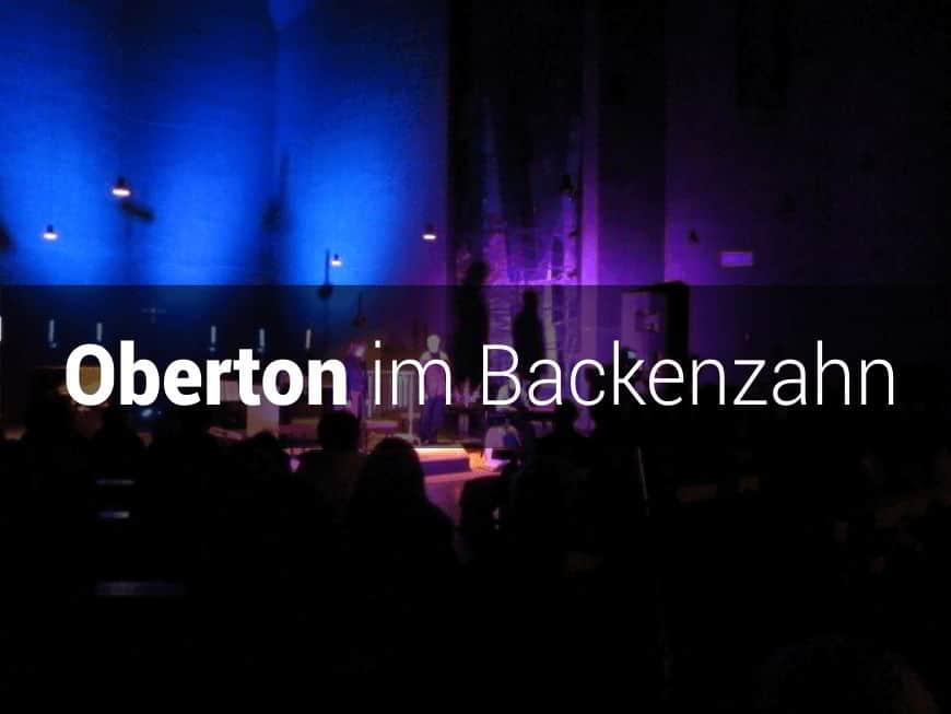 Konzert Oberton im Backenzahn - 1. Nov in Aachen