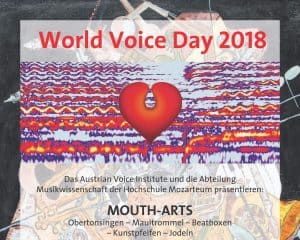 14.4.2018 Salzburg Plakat - World Voice Day Teil